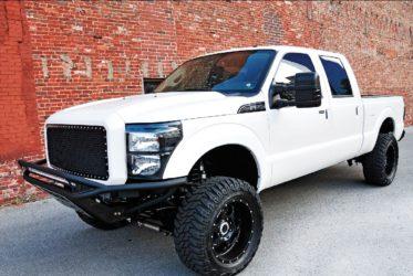 Ford F250 3rd gen prerunner addictive desert lift kit