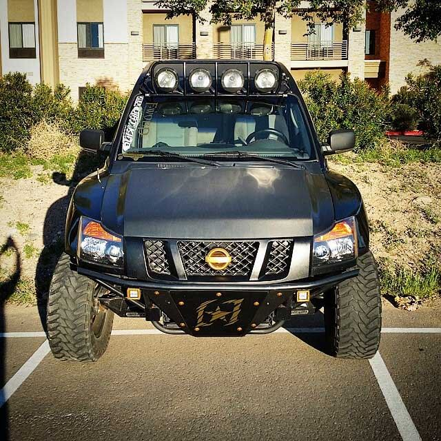 nissan titan prerunner off-road bumper