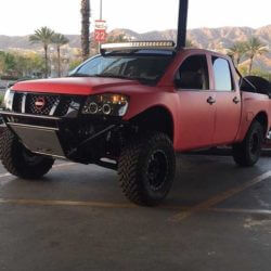 Nissan Titan Desert truck DIY