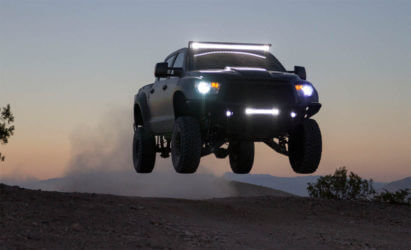 toyota tundra prerunner jump