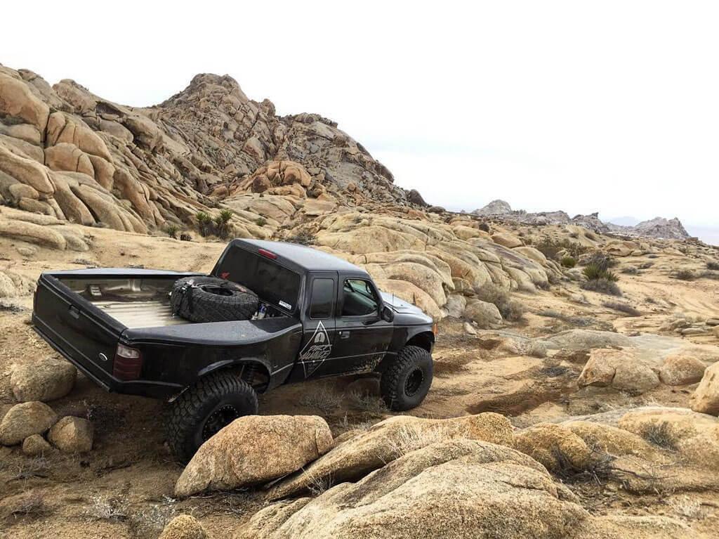 Ford Ranger Prerunner Rock Crawling