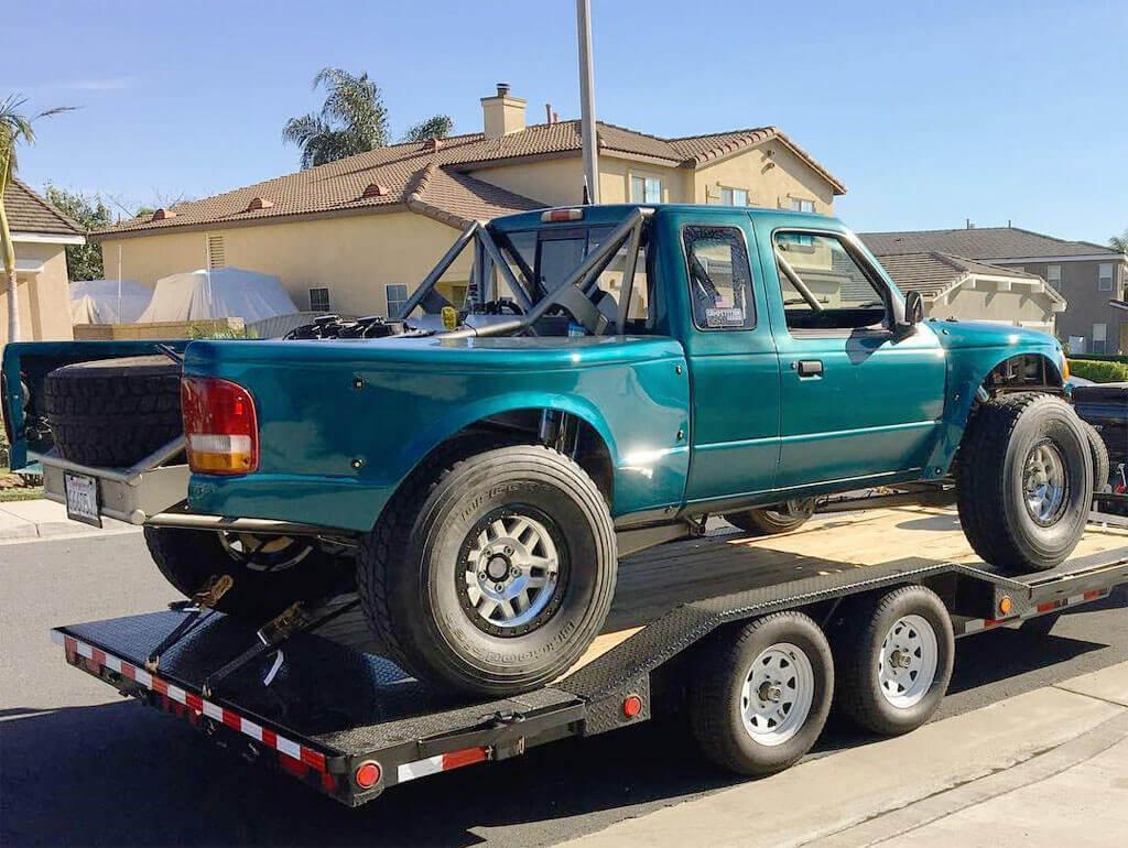 Ford Ranger trophy truck