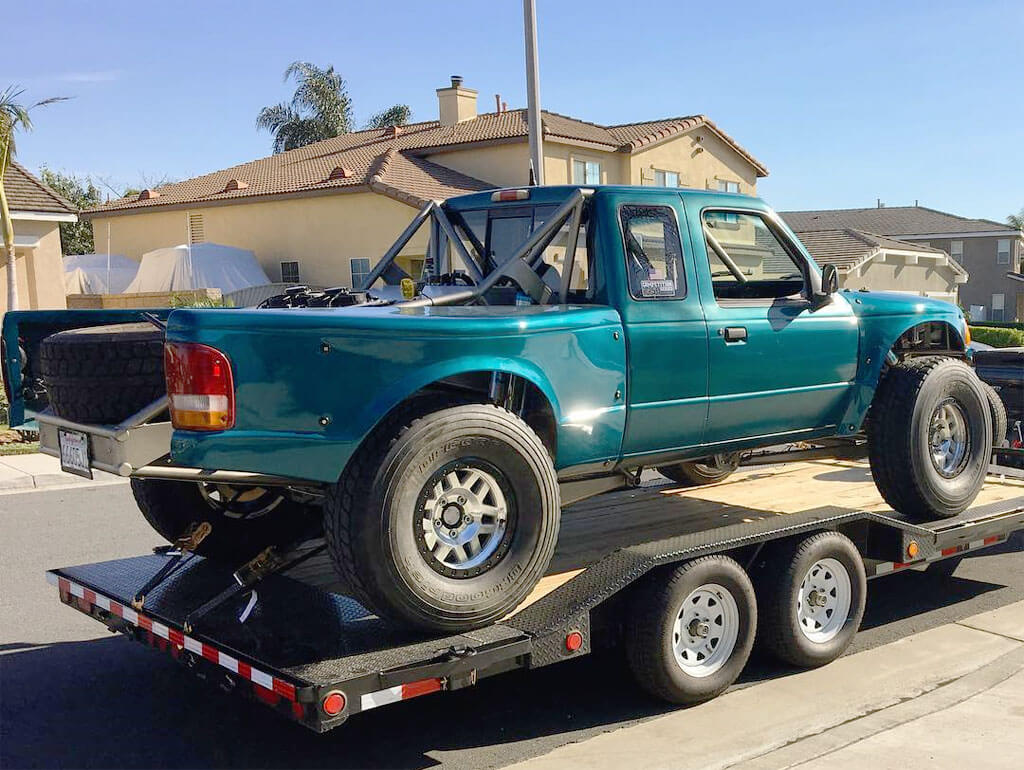 One of the best examples of Ford Ranger luxury prerunners with LS swap and other extensive mods by David Hart