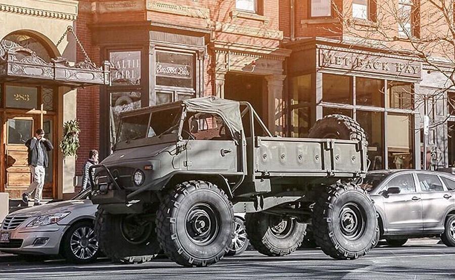 Unimog truck photography
