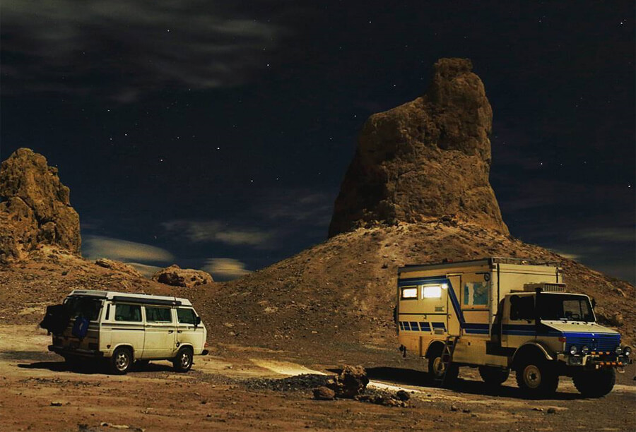 Unimog truck camper is perfect for overland expeditions