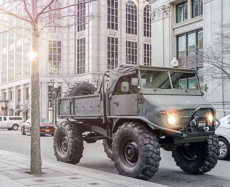 Unimog 404 specs, prices in USA, history and detailed review