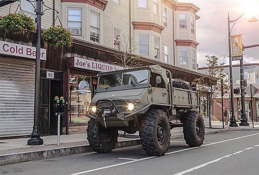 """Unimog truck 40"""" wheel size"""