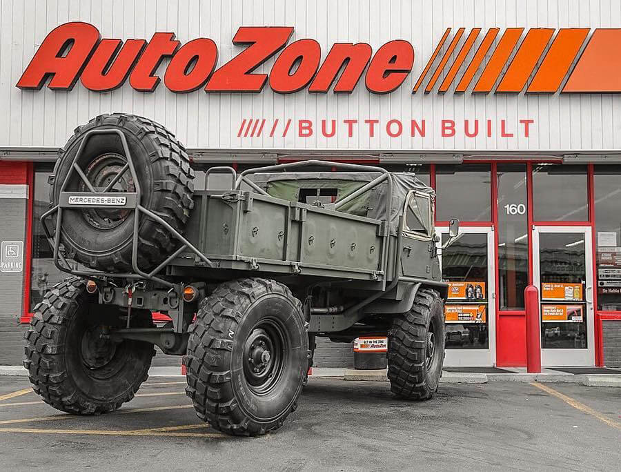 How much does a Unimog truck cost in USA?