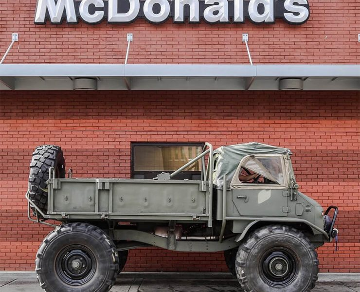 unimog truck in USA