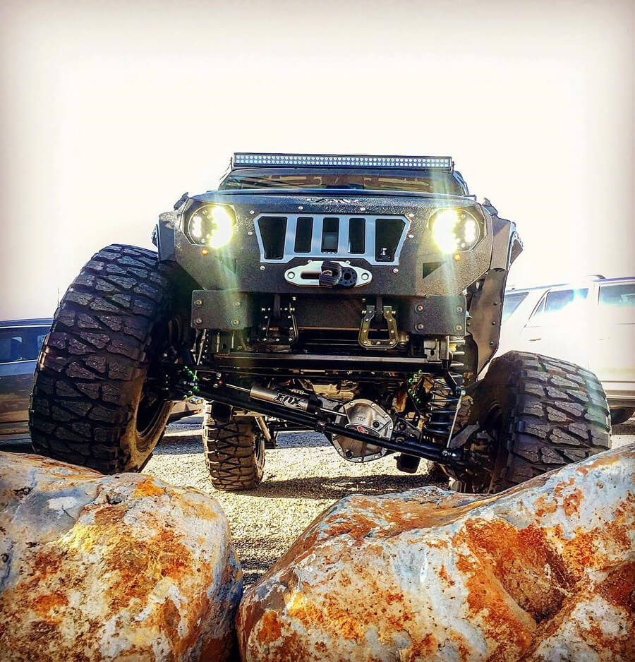 jeep wrangler ariculation g2 front differential