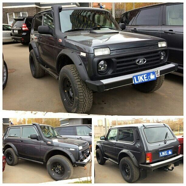 Lada niva off-road upgrades and mods