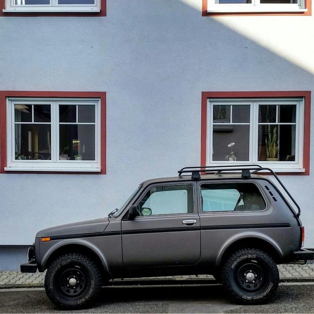 Lada niva Sweden 4x4