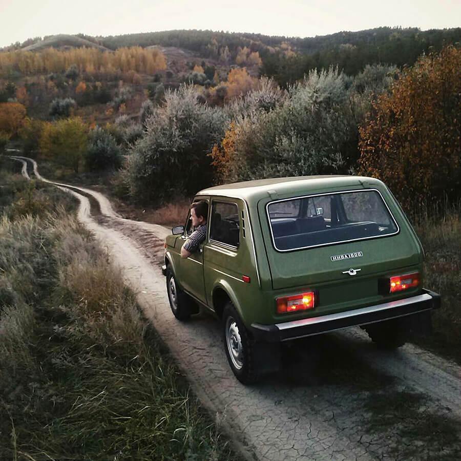 Vintage Lada niva classic USSR 2121