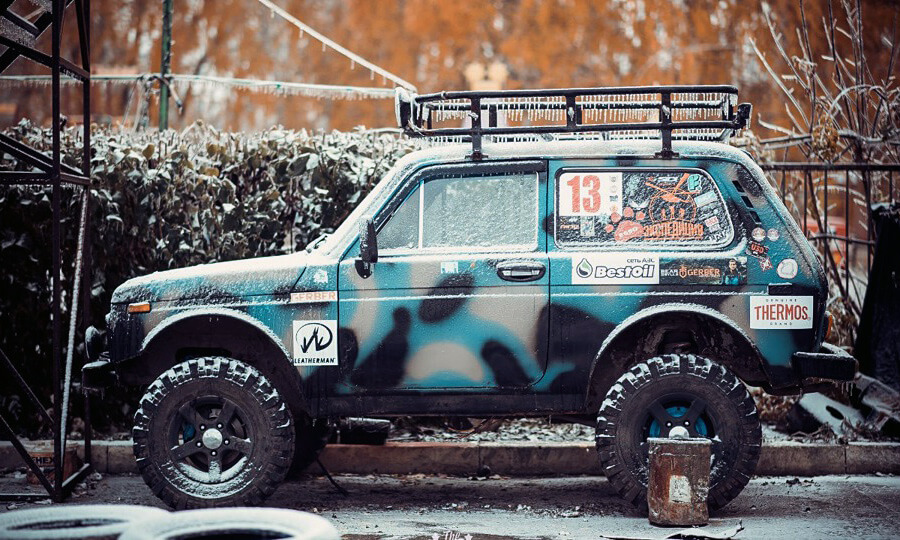 Lada niva ZLO 4x4 from Russia by Little Travels