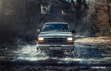 Firs Gen Ford Explorer off-road