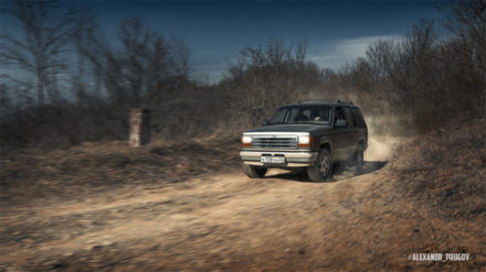 1990 Ford Explorer overland project