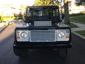 Land rover defender 90 silver grille OEM