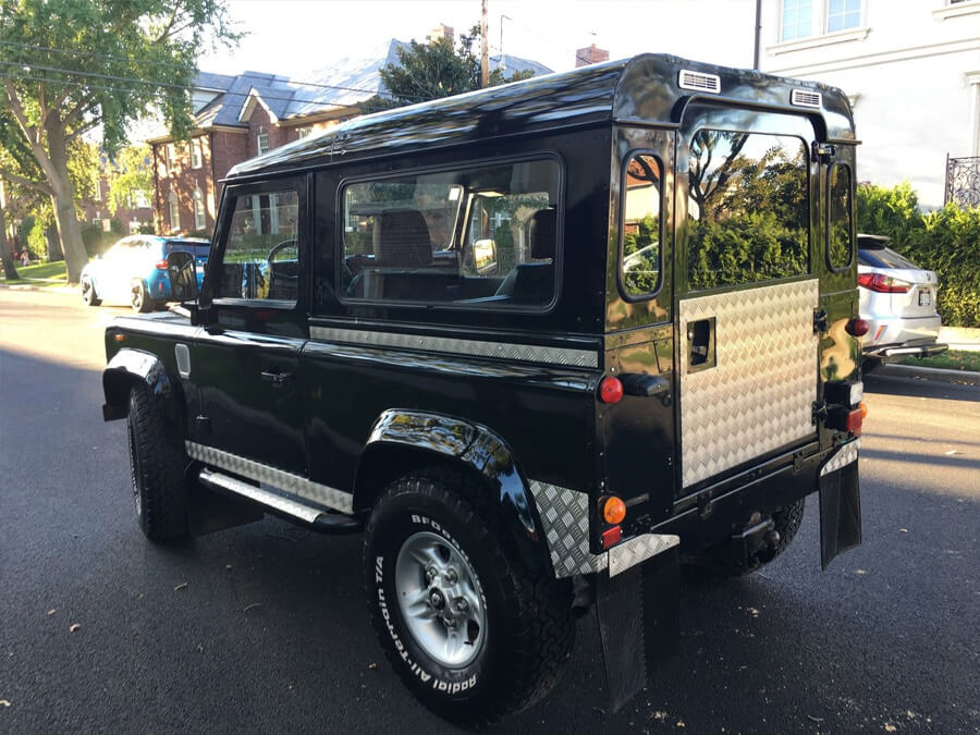Land rover defender 90 body kit metal