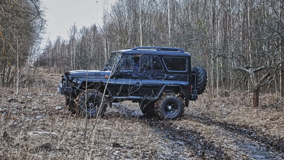Russian 4x4 pictures, spec, gallery