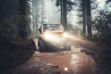 Uaz off-road modifications