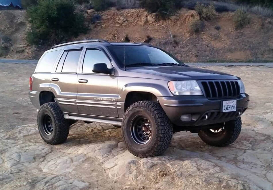 Jeep Grand Cherokee 32 inch tires