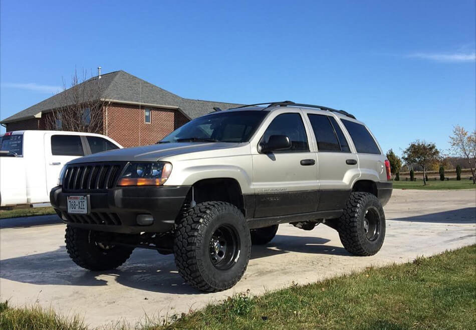 "Jeep Grand Cherokee WJ 2003 4.5"" lift"