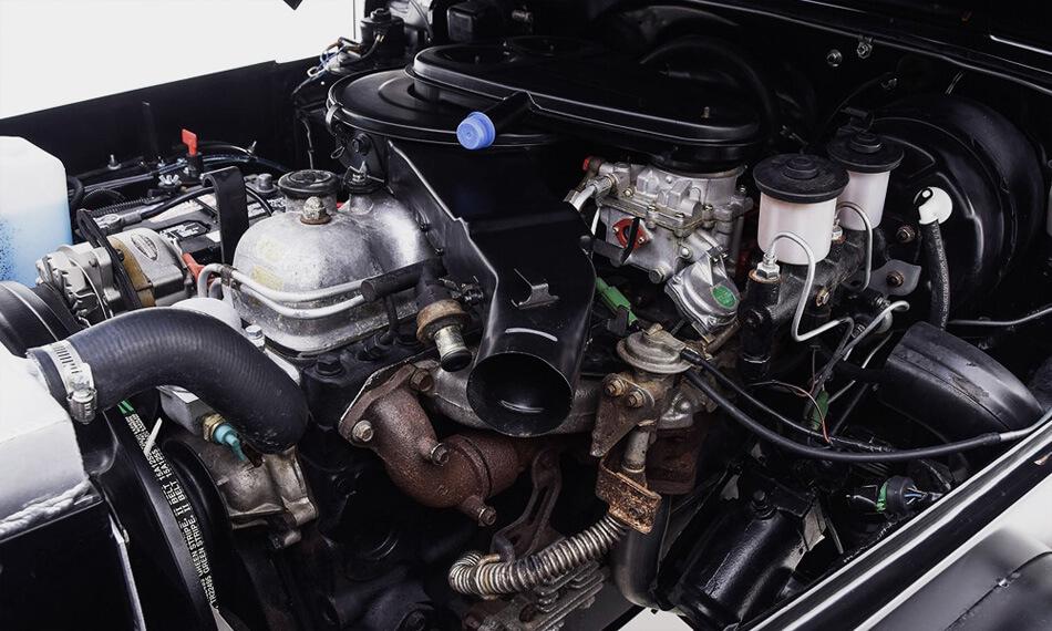 Toyota fj 40 engine