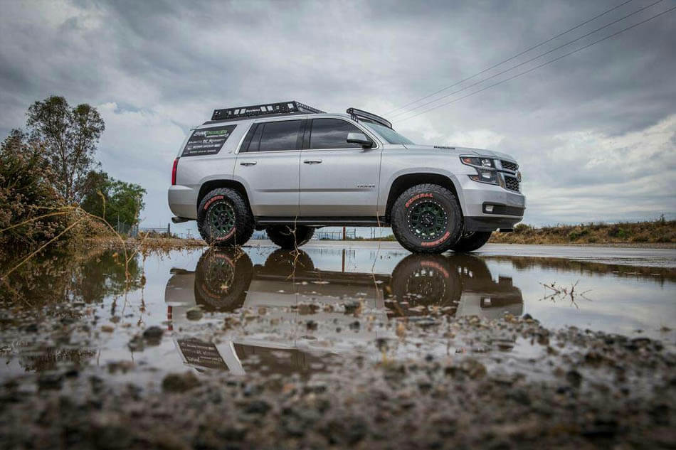 Chevy Tahoe prerunner lifted