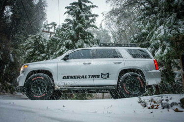 "CHevy tahoe on 32"" tires lifted"