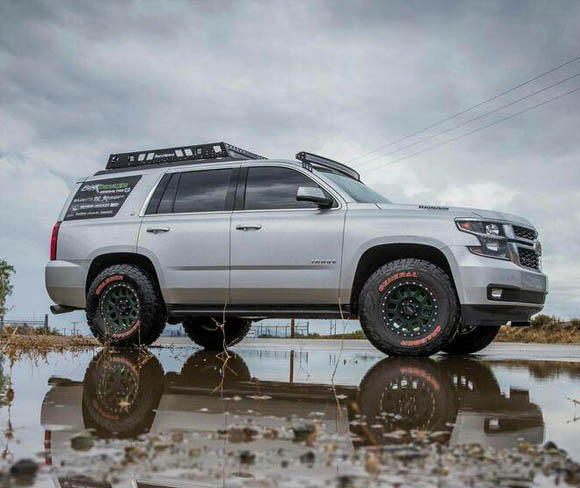 Chevy Tahoe prerunner lift kit