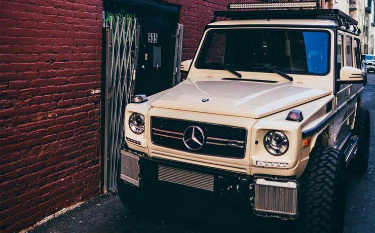 Mercedes gwagen offroad modifications