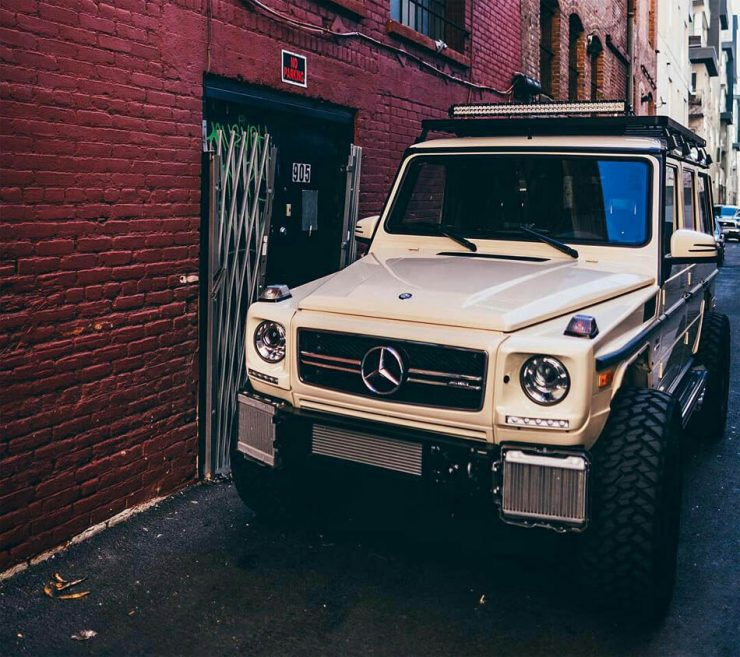Mercedes gwagen offroad modifications