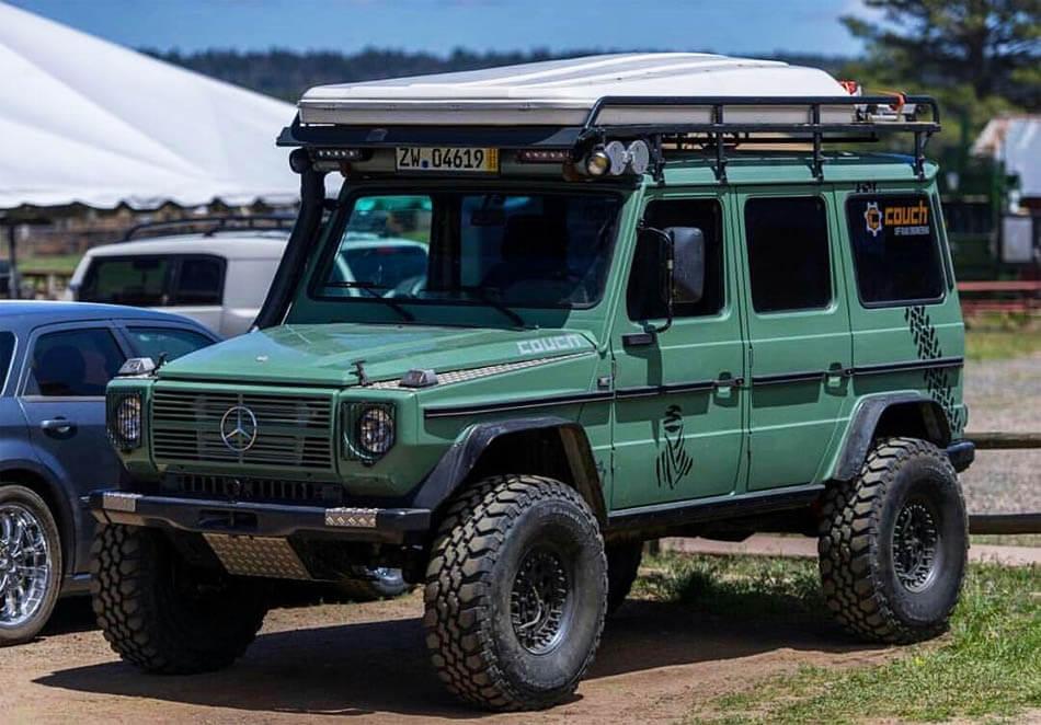 Mercedes gclass overland spec