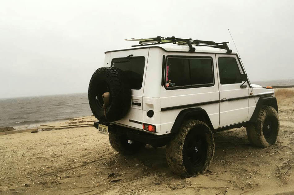 3 door mercedes gwagen