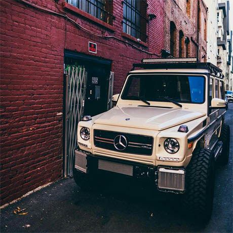 Mercedes g-class lifted