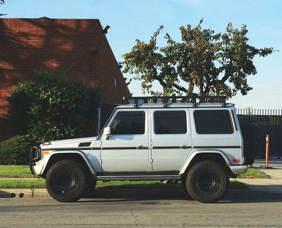 Mercedes gwagon offroad modified