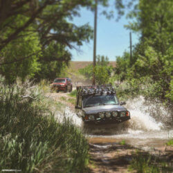 Land Rover Discovery river crossing