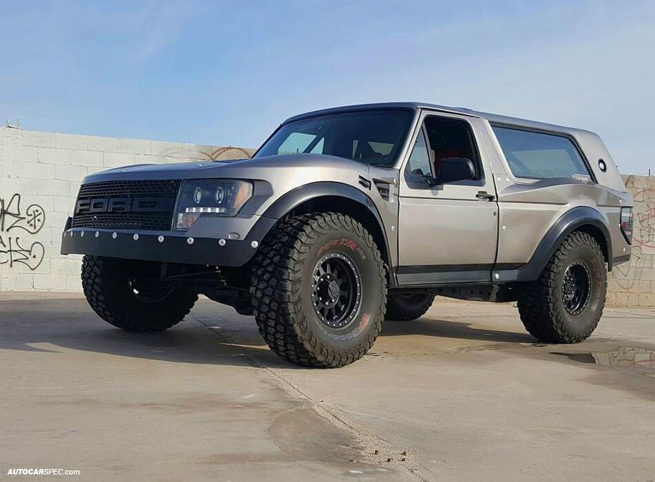 Ford Bronco Prerunner Fenders