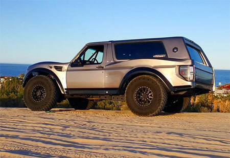 "Ford Bronco Prerunner with 30"" Travel"