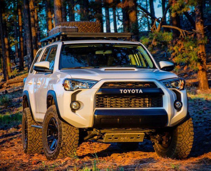 Toyota 4 Runner with Toytec Ultimate Lift kit
