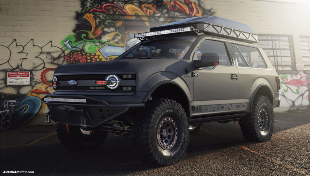 New Ford Bronco Lifted - 2 door