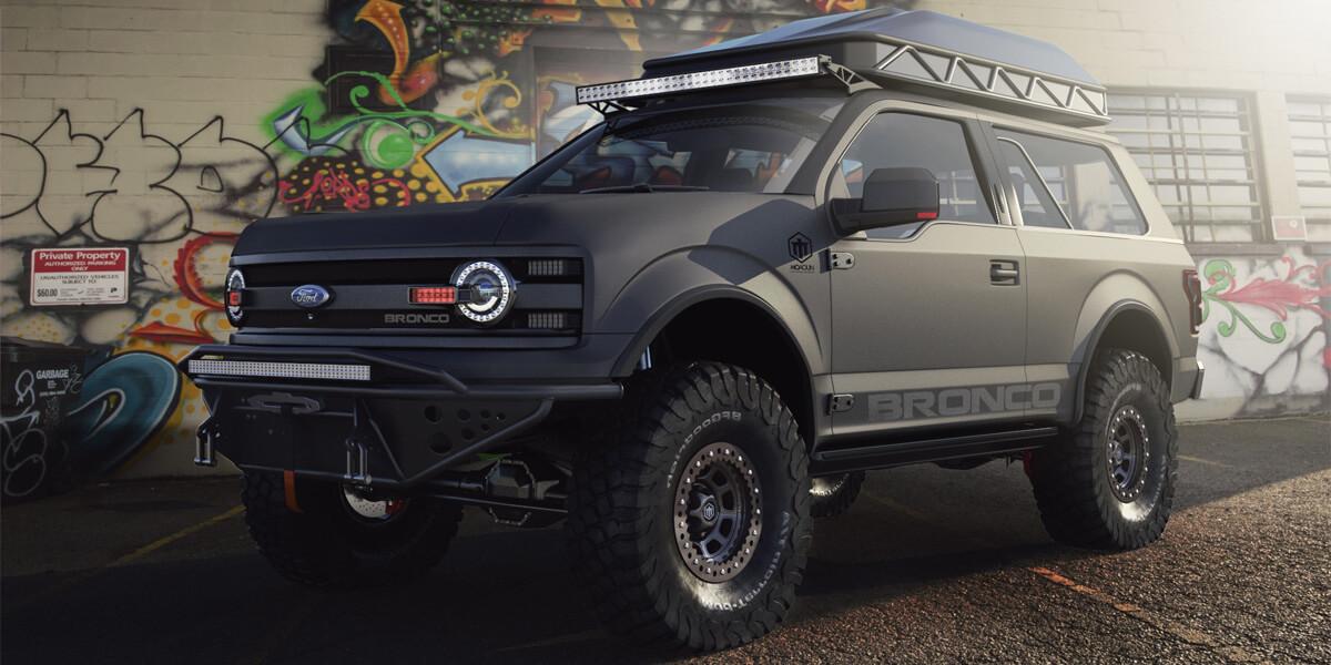 2018 - 2020 Ford Bronco 2 door New Model