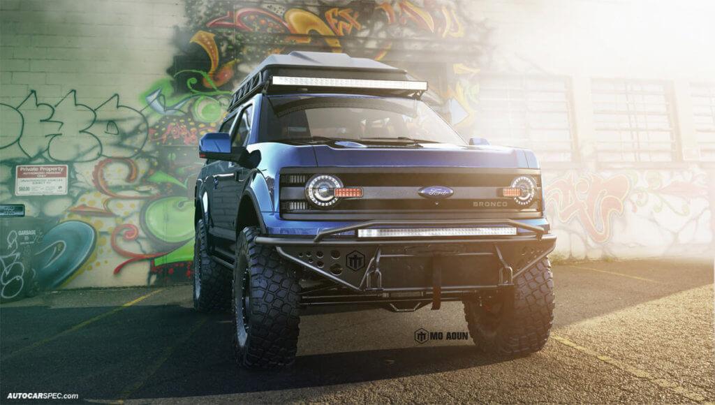 New Ford Bronco 2018 - 2020 Design