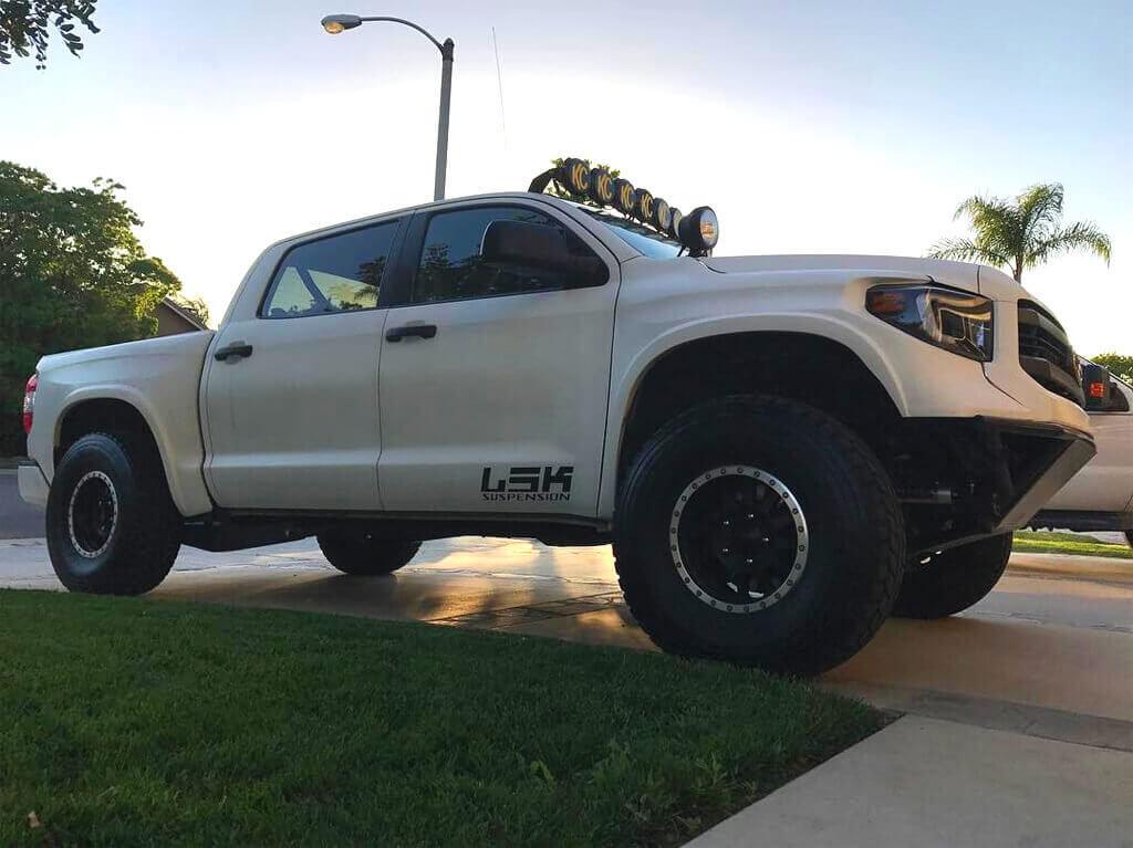 Lifted Toyota Tundra Prerunner on Method Double Standards Racing Wheels with Beadlocks