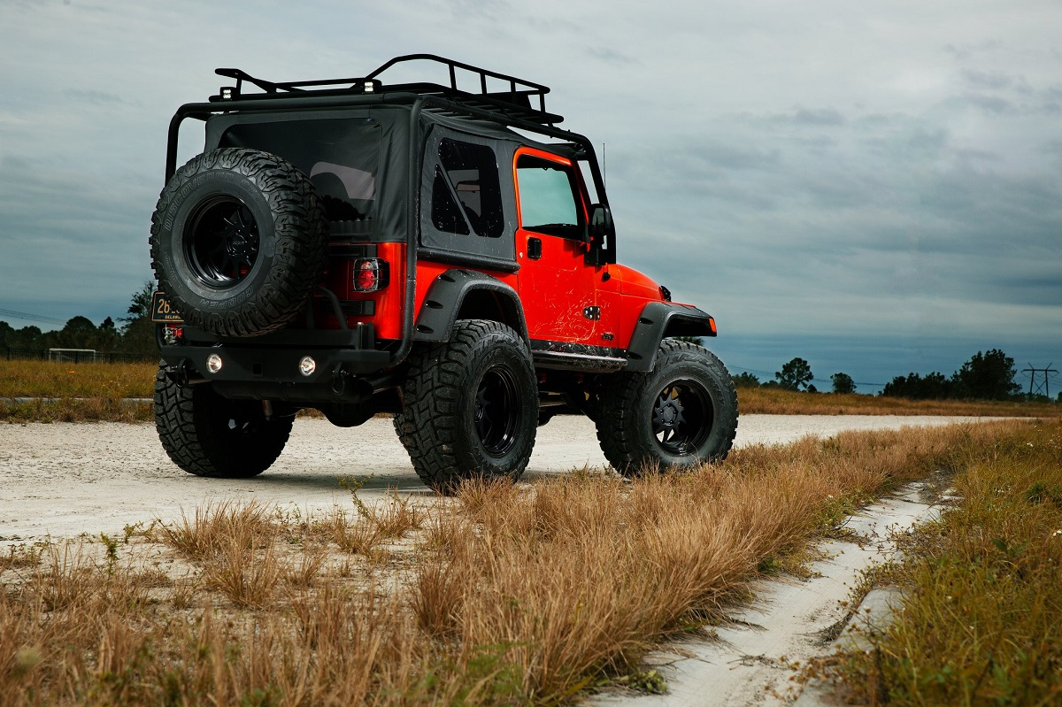 Jeep Wrangler Tj Overland Gear And Rotiform Off Road Rims