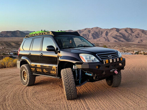 Lifted Lexus GX460 Off-road Mods and Big Wheels