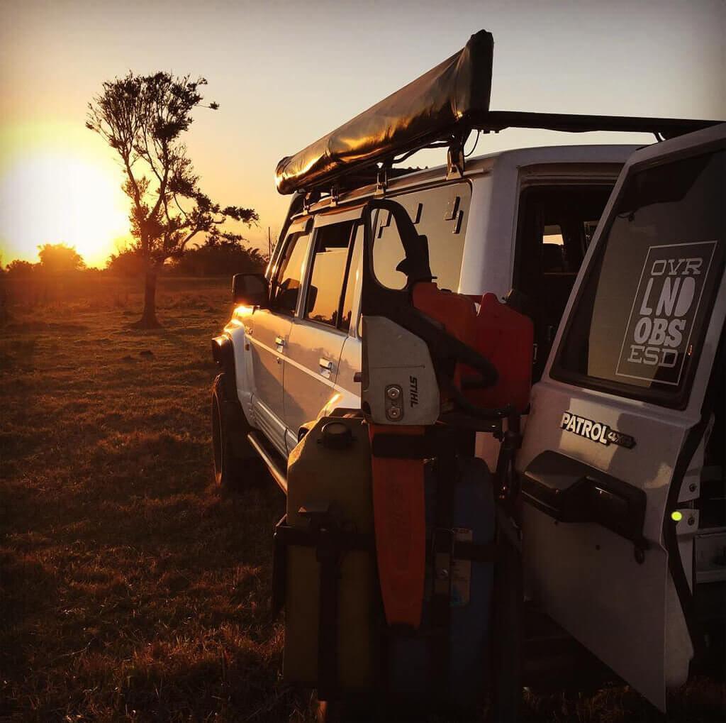Nissan Patrol Barn doors - expedition
