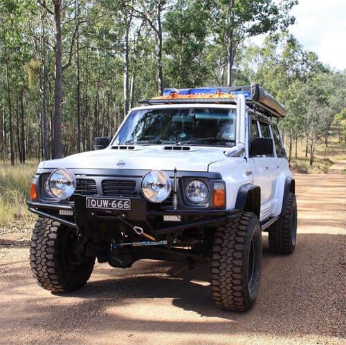 Lifted Nissan patrol - rare 4x4 of USA