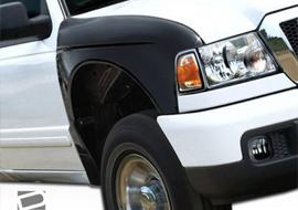Duraflex wide prerunner style fenders for Ford Ranger