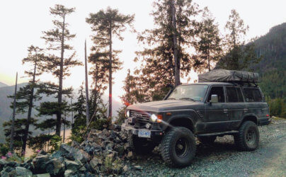 Lifted Toyota Land Cruiser BJ60 Diesel